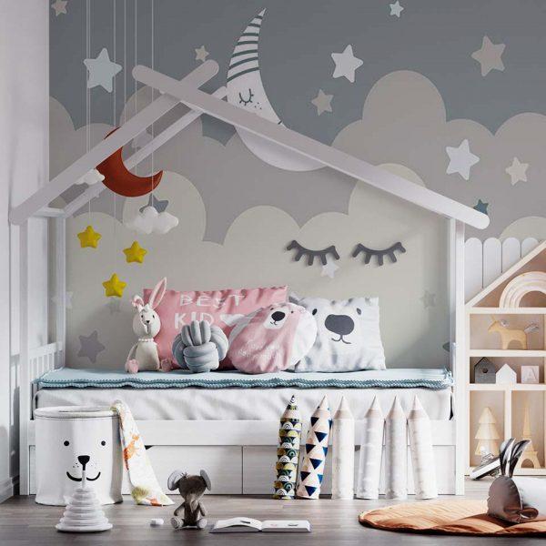 Lovely sleeping - tapeta dziecięca - artgroup.com.pl