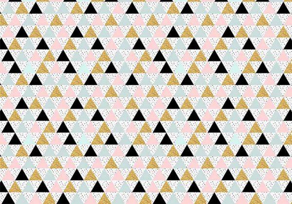 Party triangle - tapeta dziecięca - artgroup.com.pl