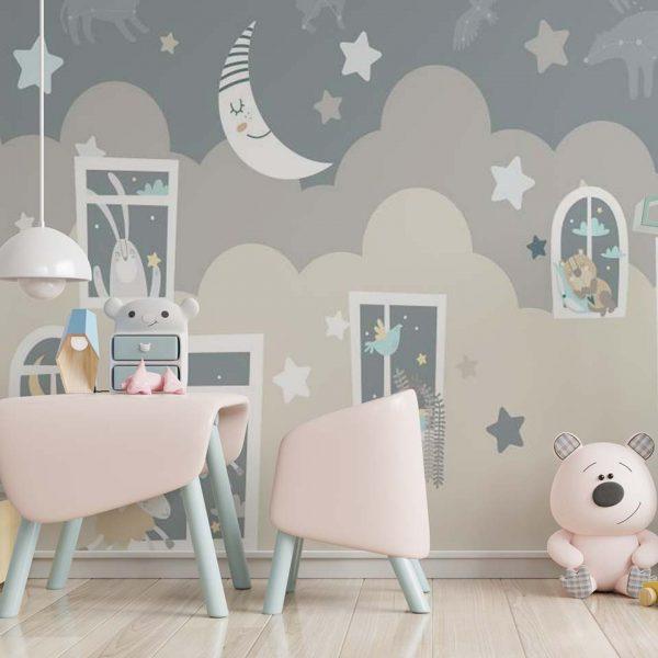 Sleepingwall - tapeta dziecięca - artgroup.com.pl