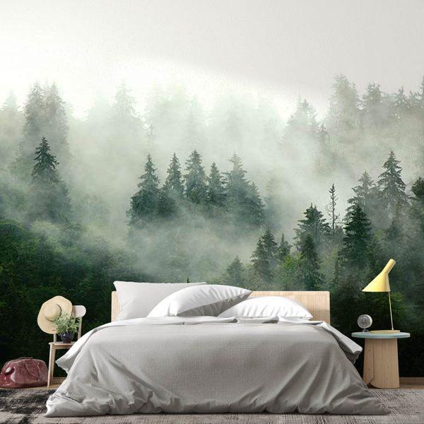 Green Forest - fototapeta - artgroup.com.pl