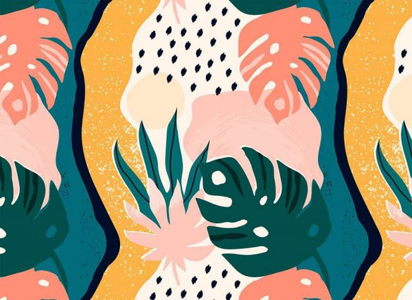 monstera sensation - fototapeta - artgroup.com.pl