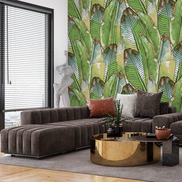 spring leaves - fototapeta - artgroup.com.pl