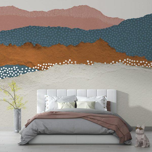 Mountains Majesty - Tapeta designerska - artgroup.com.pl