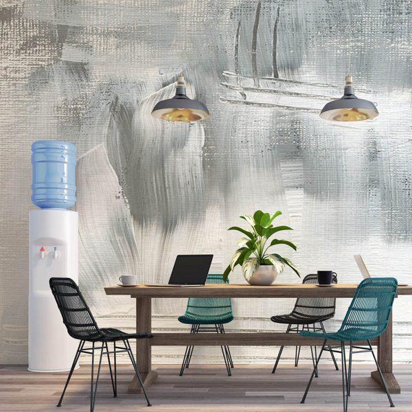 Navy Blue Painting - Tapeta designerska - artgroup.com.pl