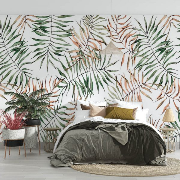 Soft Leaf - Tapeta designerska - artgroup.com.pl